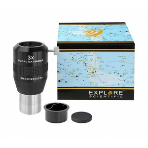 Explore Scientific 3X バローレンズ フォーカルエクステンダー 31.7mm径|astrostr
