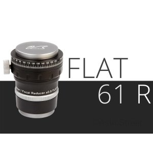WillamOptics Flat61R アジャスタブル 0.8倍 レデューサー/フラットナー Z61鏡筒用 |astrostr