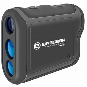Bresser レンジファインダー レーザー距離計 4倍 21口径 最大800mまで 【国内正規品】 4025810