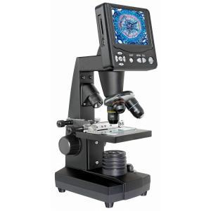 Bresser LCDデジタル顕微鏡 3.5インチ液晶搭載 50-500倍 500万画素 撮影可能 5201000|astrostr