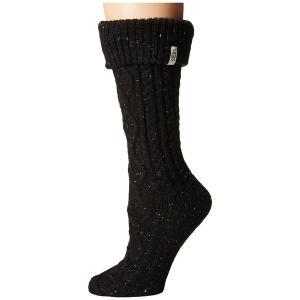 アグ 靴下 アンダーウェア レディース Shaye Tall Rain Boot Socks Bla...