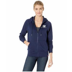 a81c2e0dcff8f ニューバランス パーカー・スウェットシャツ アウター レディース Essentials Full Zip Hoodie Pigment