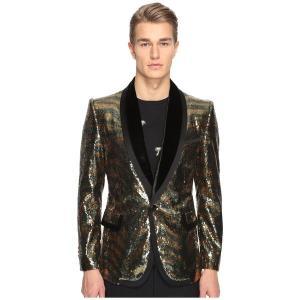 マークジェイコブス コート アウター メンズ Tiger Sequin Blazer Black