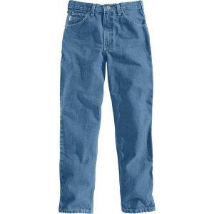 【当日出荷】 カーハート メンズ Carhartt Men's Relaxed Fit Tapered Leg Jeans Stonewash 【サイズ 31×32】 asty-shop2