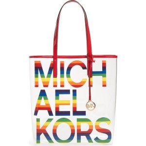 【当日出荷】 マイケルコース レディース MICHAEL Michael Kors Large Clear Pride Tote Rainbow 【サイズ One-Size】 asty-shop2
