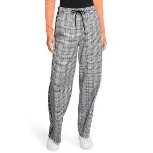 【当日出荷】 ナイキ レディース Nike Tearaway Plaid Pants Black 【サイズ L】 asty-shop2