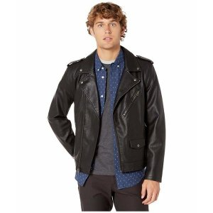 【当日出荷】 リーバイス アウター メンズ Faux Leather Moto Black サイズ L】 asty-shop2