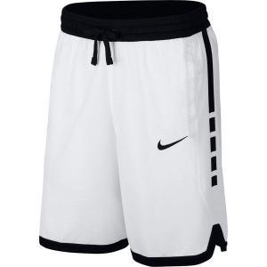 【当日出荷】 ナイキ メンズ Nike Men's Dry Elite Stripe Basketball Shorts WhiteBlackBlack 【サイズ M】 asty-shop2