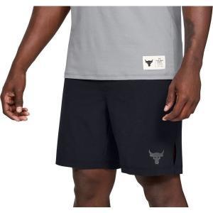 【当日出荷】 アンダーアーマー メンズ Under Armour Men's Project Rock Training Shorts Black 【サイズ XXL】 asty-shop2