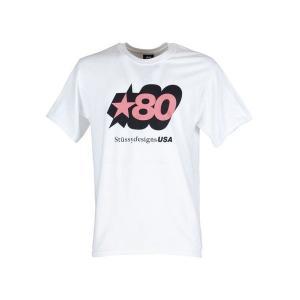 【当日出荷】 ステューシー メンズ Stussy 80 Star Tee Bianco 【サイズ L S】 asty-shop2