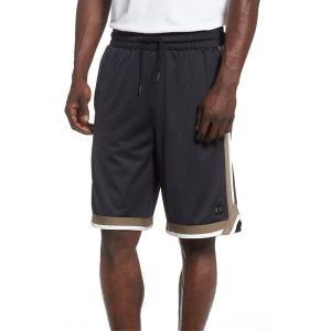 【当日出荷】 アンダーアーマー メンズ Under Armour Sportstyle Mesh Shorts Black/ Silt Brown 【サイズ XL】 asty-shop2