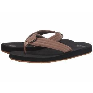 【当日出荷】 クイックシルバー メンズ Carver Tropics Tan Solid 【サイズ 26cm】 asty-shop2