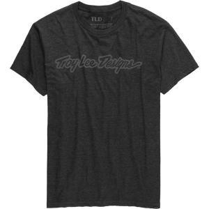 トロイリーデザイン Tシャツ メンズ トップス Signature T-Shirt - Men's Charcoal Heather astyshop