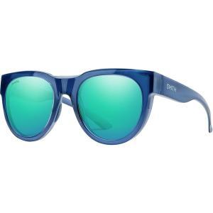 スミス サングラス・アイウェア メンズ アクセサリー Crusader Chromapop Sunglasses Sapphire Frame/Opal Mirror|astyshop