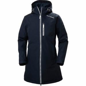 ヘリーハンセン ジャケット・ブルゾン レディース アウター Long Belfast Winter Insulated Jacket NV|astyshop