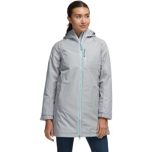 ヘリーハンセン ジャケット・ブルゾン レディース アウター Long Belfast Winter Insulated Jacket PEN|astyshop