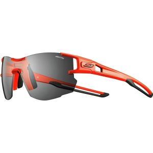ジュルボ サングラス・アイウェア メンズ アクセサリー AeroLight Reactiv Sunglasses Neon Orange/Black|astyshop