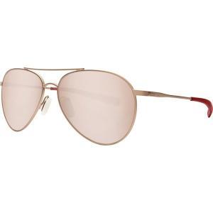 コスタ サングラス・アイウェア メンズ アクセサリー Piper 580P Polarized Sunglasses Satin Rose Frame/Copper Silver Mirror|astyshop