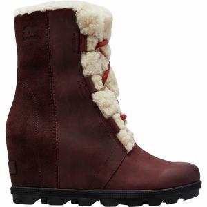 ソレル ブーツ&レインブーツ レディース シューズ Joan of Arctic Wedge II Shearling Boot - Women's Cattail astyshop