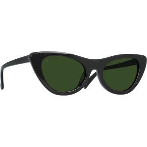 レーン サングラス&アイウェア レディース アクセサリー Flora Sunglasses Black/Bottle Green|astyshop