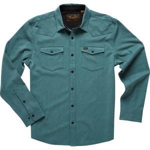 ハウラーブラザーズ シャツ メンズ トップス Stockman Stretch Snap Shirt - Men's Teal|astyshop