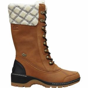 ソレル ブーツ&レインブーツ レディース シューズ Whistler Tall Boot - Women's Camel Brown/Black astyshop