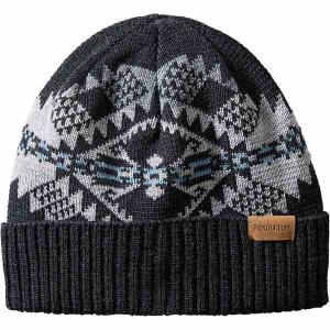 ペンドルトン 帽子 メンズ アクセサリー Knit Cap Journey West Black astyshop