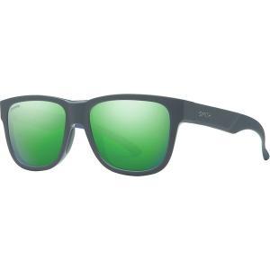 スミス サングラス・アイウェア メンズ アクセサリー Lowdown Slim 2 ChromaPop Sunglasses Matte Smoke Blue/Sun Green Mirror|astyshop