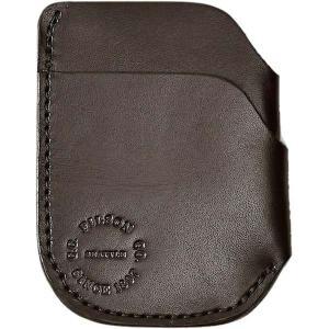 フィルソン 財布 メンズ アクセサリー Front Pocket Cash & Card Case - Men's Brown|astyshop