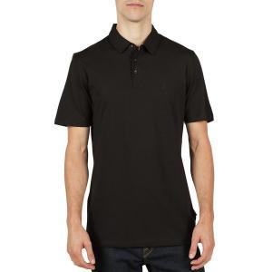 ボルコム シャツ メンズ トップス Wowzer Polo Shirt - Men's Black|astyshop