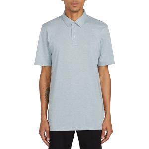 ボルコム シャツ メンズ トップス Wowzer Polo Shirt - Men's Cool Blue|astyshop