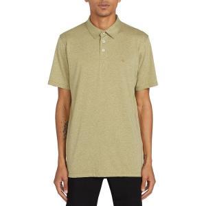 ボルコム シャツ メンズ トップス Wowzer Polo Shirt - Men's Moss Stone|astyshop