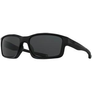 オークリー サングラス・アイウェア メンズ アクセサリー Chainlink Polarized Sunglasses - Men's Matte Black/Grey Polarized|astyshop