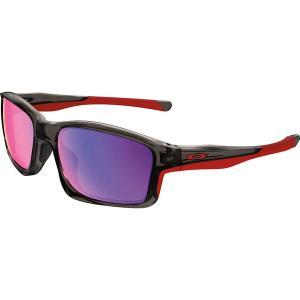 オークリー サングラス・アイウェア メンズ アクセサリー Chainlink Polarized Sunglasses - Men's Grey Smoke/OORed Irid Polar|astyshop