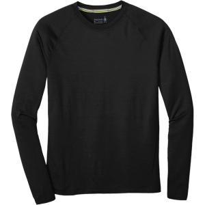 スマートウール Tシャツ メンズ トップス Merino 150 Long-Sleeve Baselayer - Men's Black astyshop