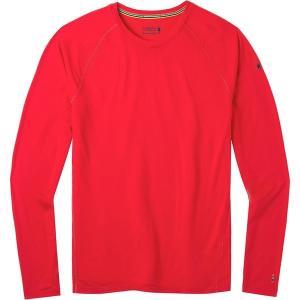 スマートウール Tシャツ メンズ トップス Merino 150 Long-Sleeve Baselayer - Men's Cardinal Red astyshop
