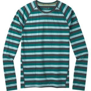 スマートウール Tシャツ メンズ トップス Merino 150 Long-Sleeve Baselayer - Men's Pacific Stripe astyshop