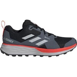 アディダス アウトドア スニーカー メンズ シューズ Terrex Two GTX Running Shoe - Men's Black/Grey Two/Solar Red astyshop