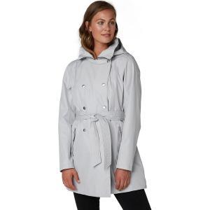 ヘリーハンセン ジャケット・ブルゾン レディース アウター Welsey II Trench Coat - Women's Grey Fog|astyshop