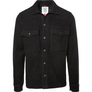 トポ・デザイン シャツ メンズ トップス Wool Shirt BK|astyshop