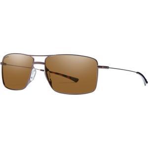 スミス サングラス・アイウェア メンズ アクセサリー Turner Sunglasses - Men's Matte Brown/Polarized Brown|astyshop