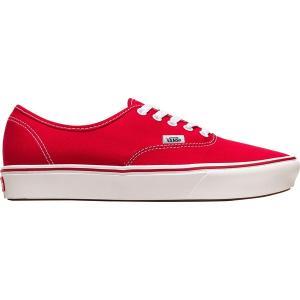 バンズ スニーカー メンズ シューズ Comfycush Authentic Shoe (classic) Racing Red/True White astyshop