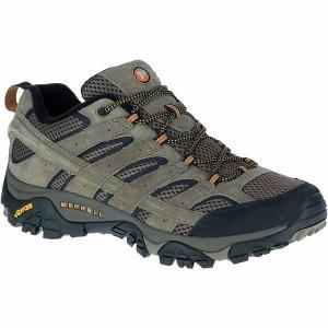 メレル スニーカー メンズ シューズ Moab 2 Vent Hiking Shoe - Wide - Men's Walnut astyshop