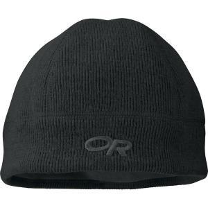 アウトドアリサーチ 帽子 メンズ アクセサリー Flurry Beanie Black astyshop