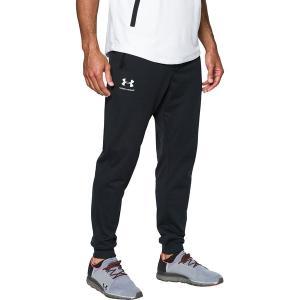 アンダーアーマー カジュアル メンズ ボトムス Sportstyle Jogger Pant - Men's Black/White|astyshop
