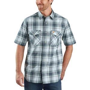 カーハート シャツ メンズ トップス TW171 RF Relaxed Fit Plaid Shirt - Men's Bluestone|astyshop