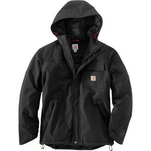 カーハート ジャケット&ブルゾン メンズ アウター Insulated Shoreline Jacket Black|astyshop