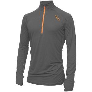 ノーザンプレイグラウンド Tシャツ メンズ トップス Zipneck Wool Top - Men's Grey astyshop