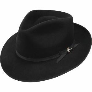 ステトソン 帽子 メンズ アクセサリー Stratoliner Hat Black astyshop
