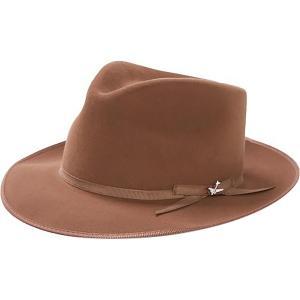 ステトソン 帽子 メンズ アクセサリー Stratoliner Hat Walnut astyshop